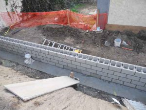 Retaining Wall Construction in los angeles