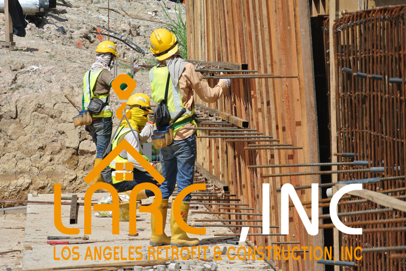 Retaining Wall Project Los Angeles