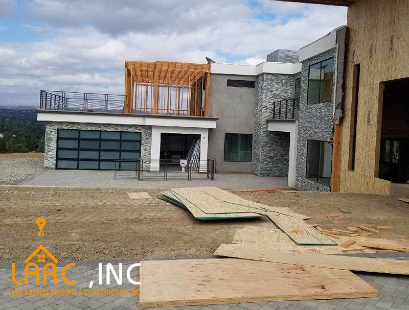 Retrofitting Construction Company Landscaping