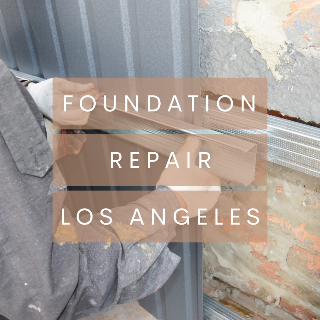 Hillside foundation repair in Los Angeles